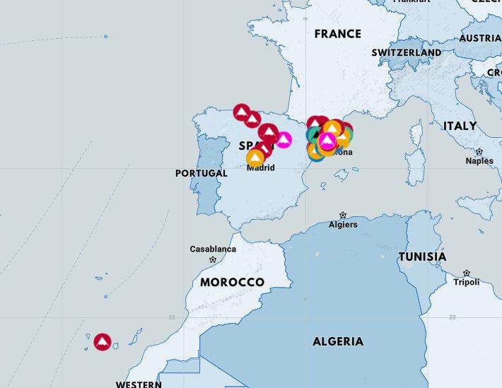 Geolocaliza tus cimas en tu propio mapa personalizable